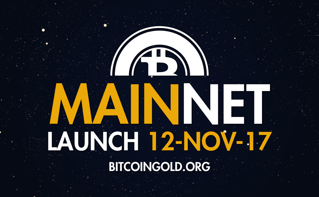 Bitcoin Gold Launch – 12th November 2017 (19:00 UTC)