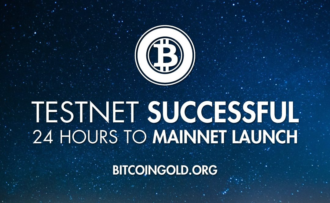 Bitcoin Gold Launch in 24 hours