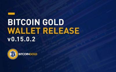 Bitcoin Gold Wallet v0.15.0.2 Release