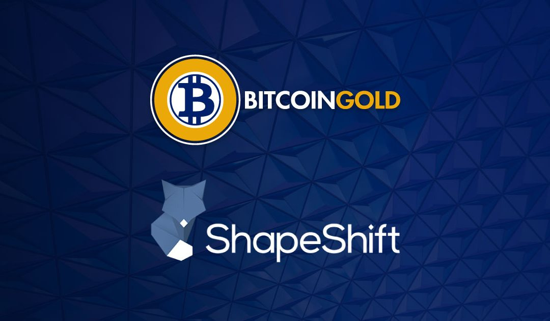 ShapeShift Supports Bitcoin Gold