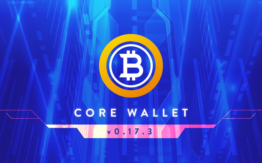 BTG Core Wallet v0.17.3