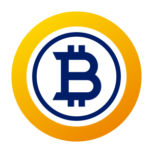 Bitcoin Gold Logo BTG Icon Color