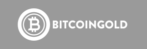 Bitcoin Gold BTG Logo White