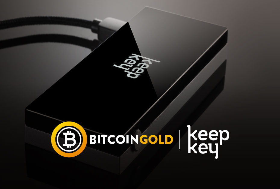 Bitcoin Gold is on KeepKey!